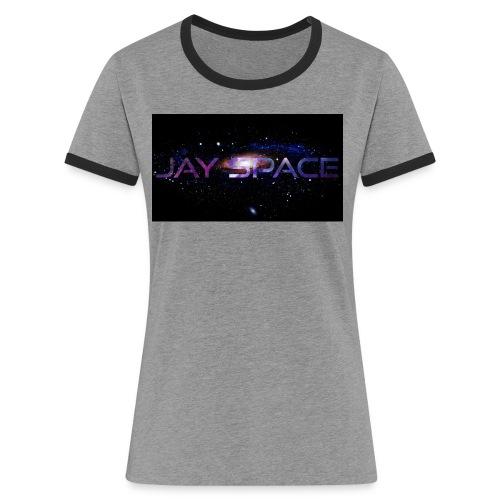 Jay Space - Naisten kontrastipaita