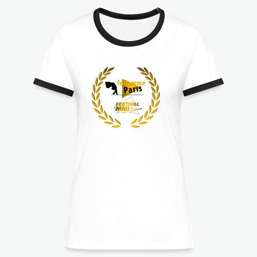 Followme Paris lauréat Festival MMI Béziers - T-shirt contrasté Femme
