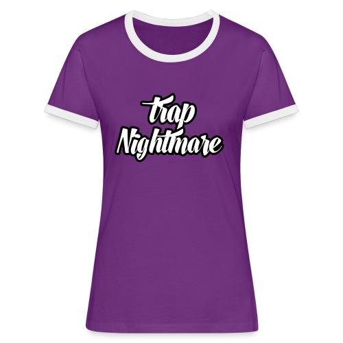 conception lisse - T-shirt contrasté Femme