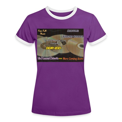 Enemy_Vevo_Picture - Women's Ringer T-Shirt