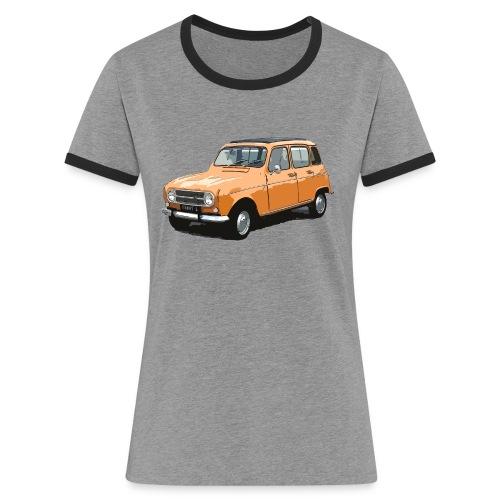 My Fashion 4l - T-shirt contrasté Femme