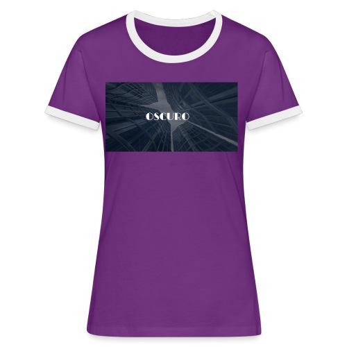 COPERTINA ALBUM OSCURO - Maglietta Contrast da donna
