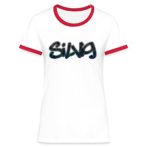 SilViG logo limited - Dame kontrast-T-shirt