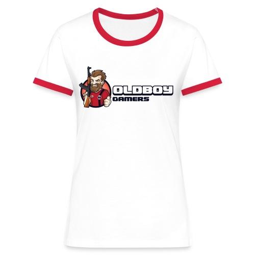 Oldboy Gamers Fanshirt - Kontrast-T-skjorte for kvinner
