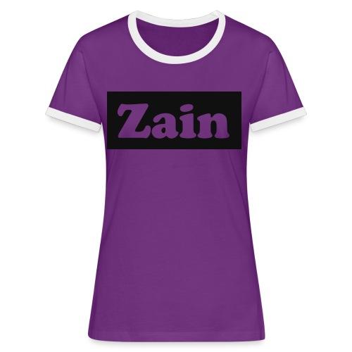 Zain Clothing Line - Women's Ringer T-Shirt