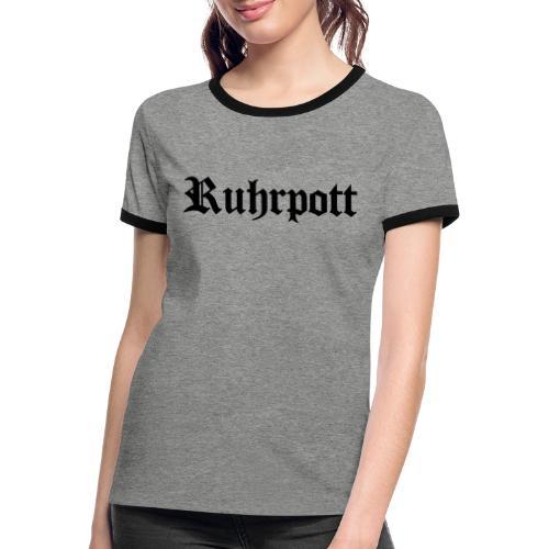 Ruhrpott - Frauen Kontrast-T-Shirt