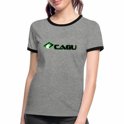 Cagu - T-shirt contrasté Femme