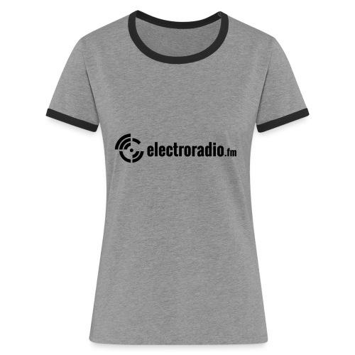electroradio.fm - Women's Ringer T-Shirt