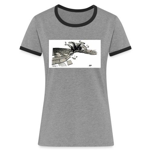 ORDER white background - Women's Ringer T-Shirt