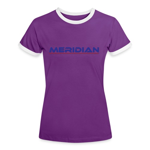 Meridian - Maglietta Contrast da donna
