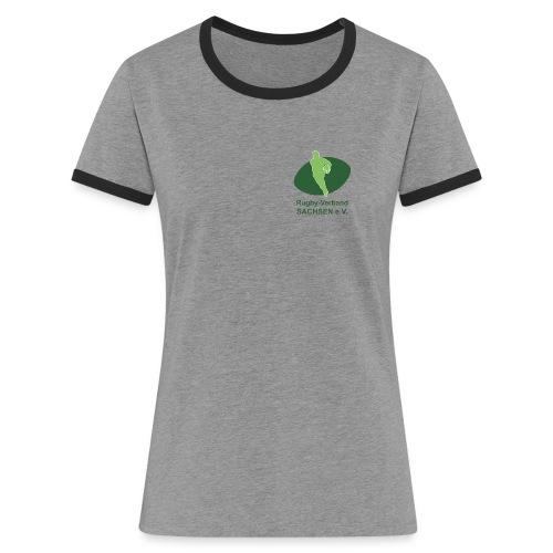 RVS-Logo - Frauen Kontrast-T-Shirt