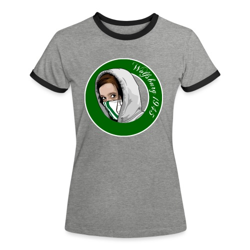 Wolfsburger Frauen - Frauen Kontrast-T-Shirt