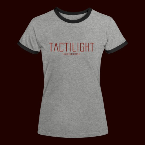 TACTILIGHT - Women's Ringer T-Shirt