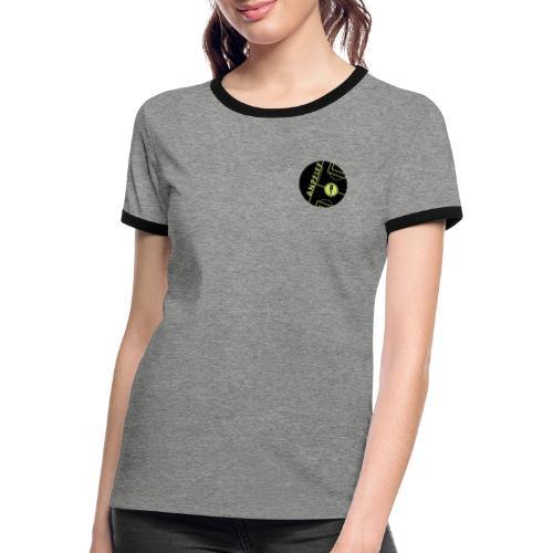 anpfiff logo - Frauen Kontrast-T-Shirt