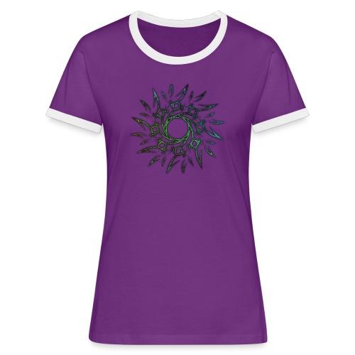 Tribale - Maglietta Contrast da donna