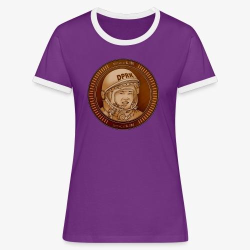 KIM Token - T-shirt contrasté Femme