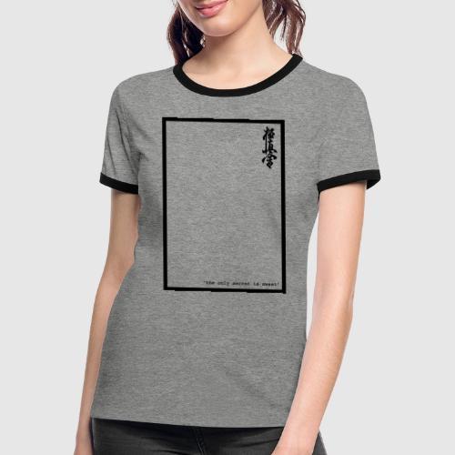 performance tshirt - Vrouwen contrastshirt