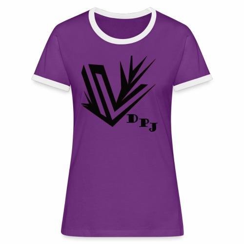 dpj - T-shirt contrasté Femme
