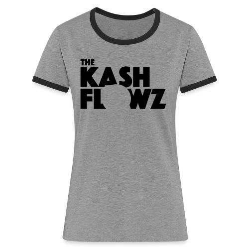 Official Logo Black - T-shirt contrasté Femme