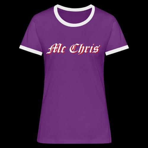 McChrislOGO11 - Frauen Kontrast-T-Shirt
