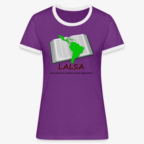LALSA Dark Lettering - Women's Ringer T-Shirt