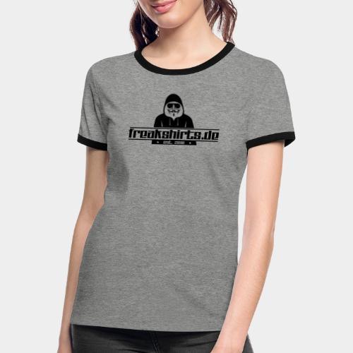 FREAKSHIRTS.de (Logo) - Frauen Kontrast-T-Shirt