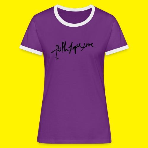 Faith Hope Love - Women's Ringer T-Shirt