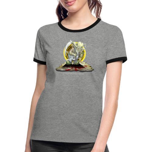 PsychopharmerKarl - Frauen Kontrast-T-Shirt