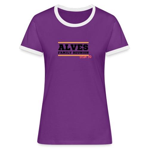 Alves - Maglietta Contrast da donna