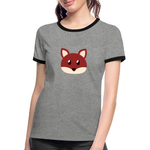 Fuchs »Fiete« - Women's Ringer T-Shirt