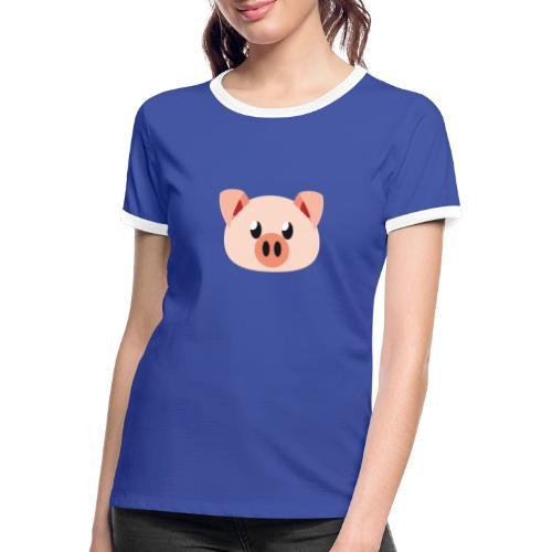 Schweinchen »Oink Oink« - Women's Ringer T-Shirt