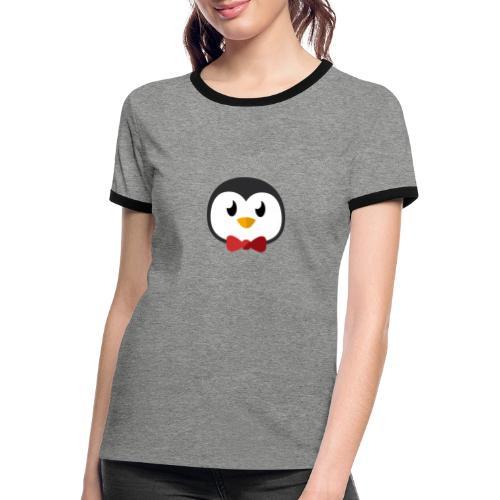 Pinguin »Ping« - Women's Ringer T-Shirt