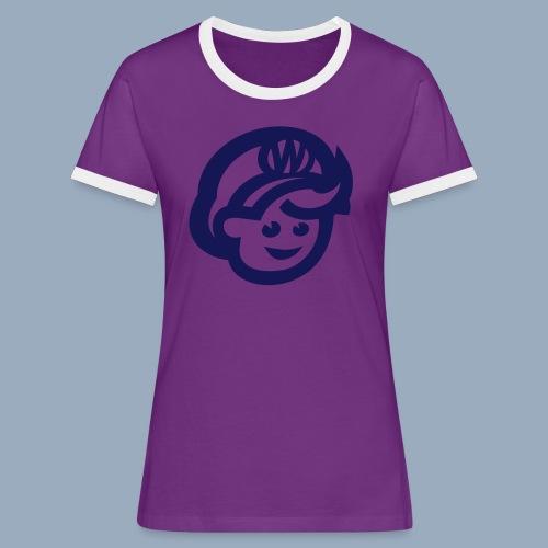 logo bb spreadshirt bb kopfonly - Women's Ringer T-Shirt