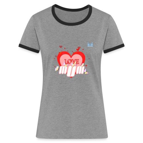 Love U Mum - Women's Ringer T-Shirt