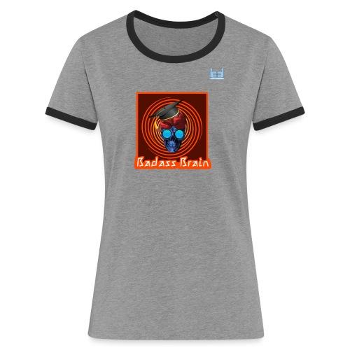 Graduation Day - Badass Brain - Women's Ringer T-Shirt