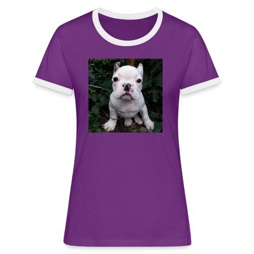 Billy Puppy 2 - Vrouwen contrastshirt
