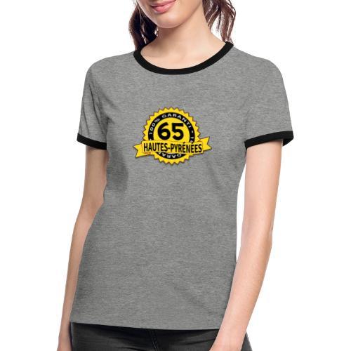65 Hautes-Pyrénées - T-shirt contrasté Femme