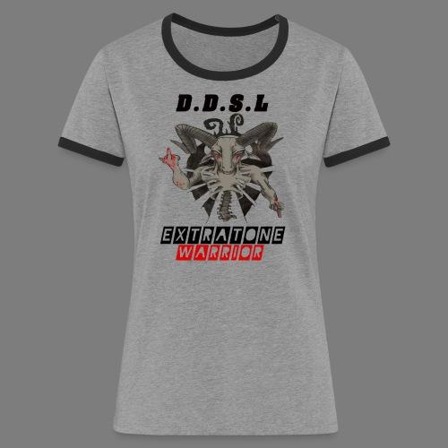 DDSL E W M.A.X - Vrouwen contrastshirt