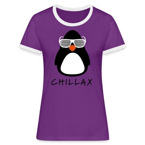 Chillax - Vrouwen contrastshirt