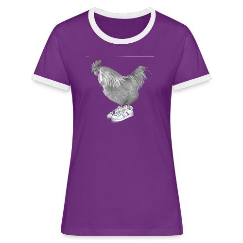 cocorico - T-shirt contrasté Femme