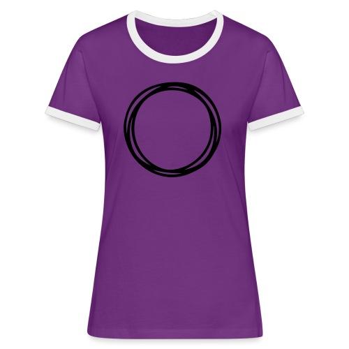 Circles and circles - Women's Ringer T-Shirt