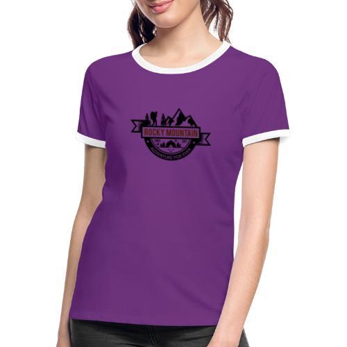 ROCKY MOUNTAIN - Maglietta Contrast da donna