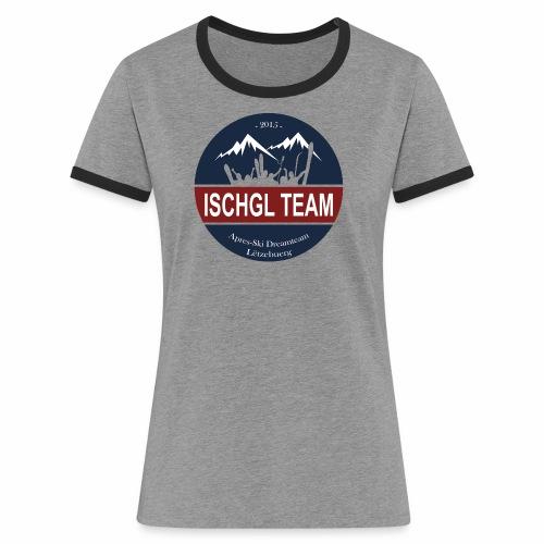 tshirt2 png - Frauen Kontrast-T-Shirt
