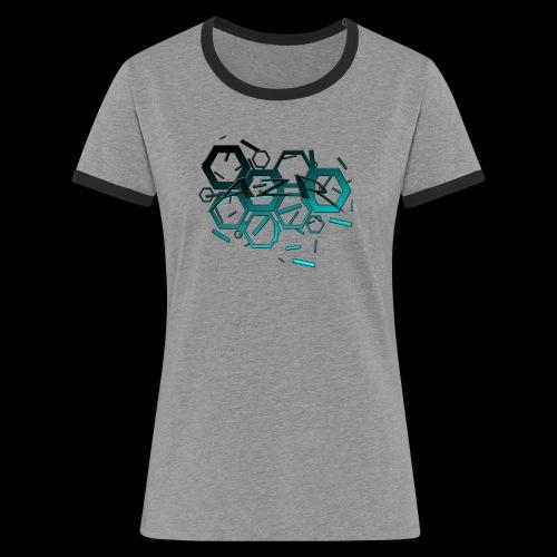 AZR - T-shirt contrasté Femme