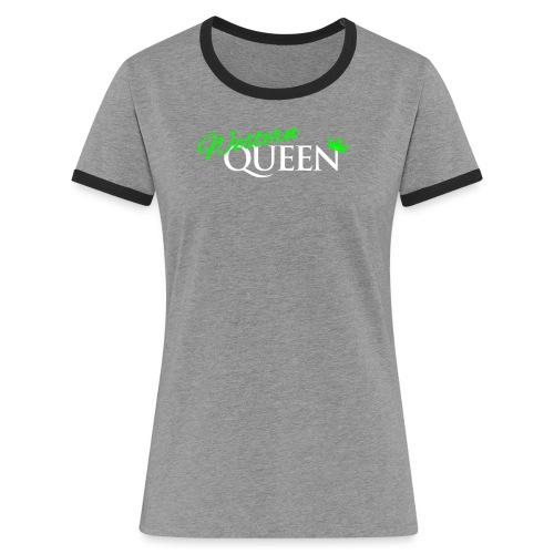 Western-Queen - Frauen Kontrast-T-Shirt