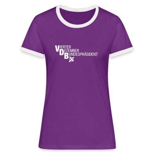 VDB 2016 - Frauen Kontrast-T-Shirt