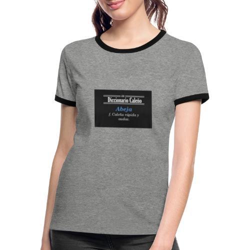 Diccionario caleño - Camiseta contraste mujer