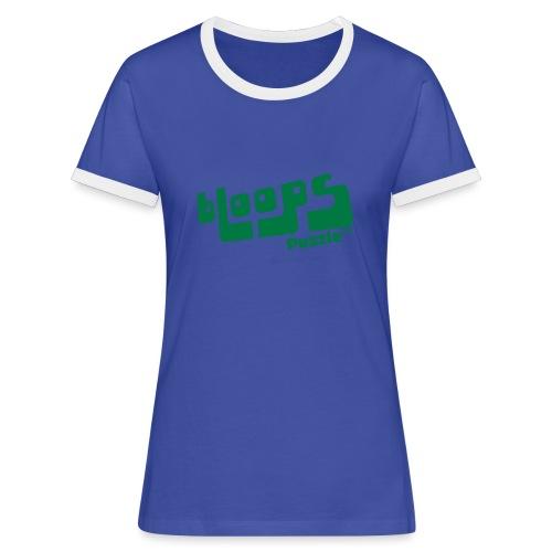 Women's Organic Tank Top bLoops Puzzle™ - Vrouwen contrastshirt