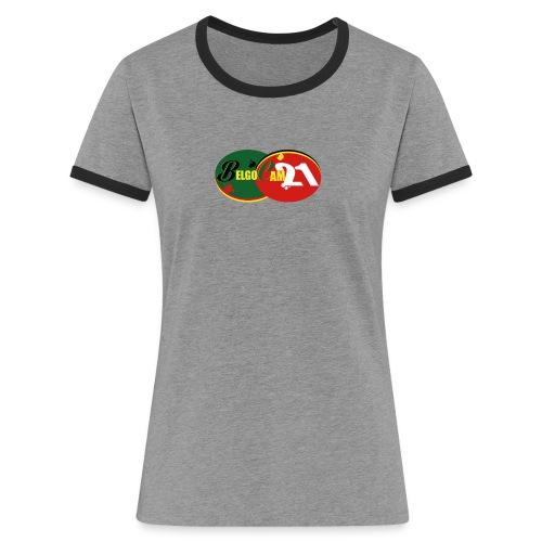 LOGO BELGO OKOKOK png - T-shirt contrasté Femme