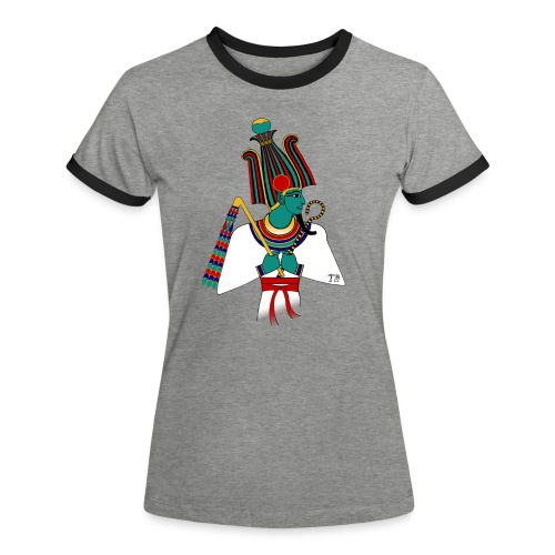 Osiris I altägyptische Gottheit - Frauen Kontrast-T-Shirt